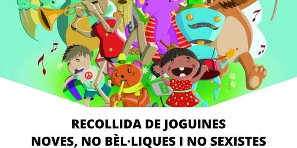 RECOLLIDA DE JOGUINES NOVES