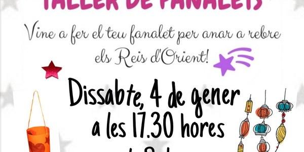 TALLER DE FANALETS