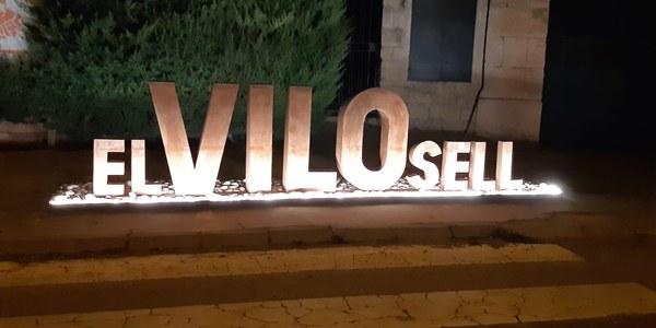 """IL·LUMINACIÓ LLETRES """"EL VILOSELL"""""""