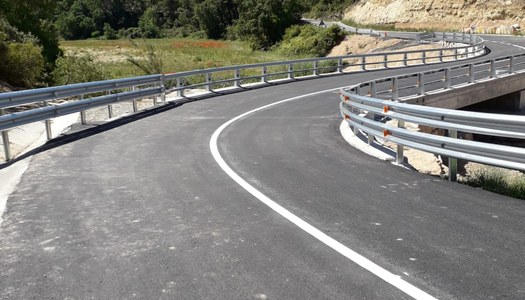 El pont de la carretera LP-7013 ja està acabat