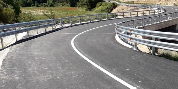 Ja han acabat les obres de reparació i millora del pont de la carretera LP-7013. FOTO 01