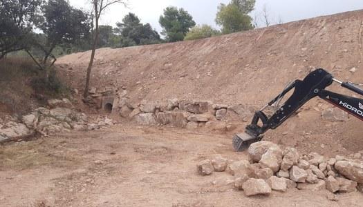 HA FINALITZAT LA RECONSTRUCCIÓ DE TALUSSOS, A LA CARRETERA DE VALLCLARA
